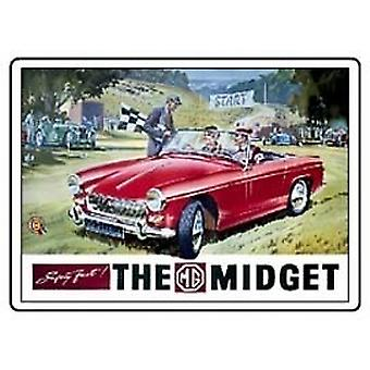 MG Midget Fridge Magnet