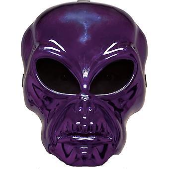 Alien Hockey Purple Mask For Halloween
