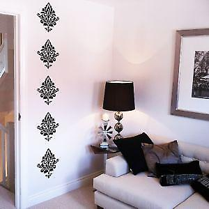 DAMASK WALL ART STICKER