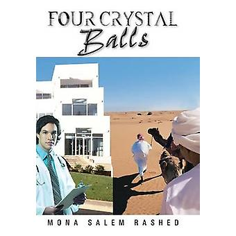 Four Crystal Balls by Rashed & Mona Salem