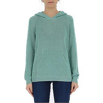 Laneus Green Viscose Sweatshirt