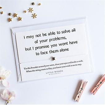 I May Not Be Able To Solve All Your Problems, Friend Charm Bracelet With Envelope