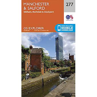 Manchester and Salford (September 2015 ed) by Ordnance Survey - 97803