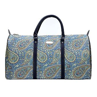 Paisley big holdall travel bag by signare tapestry / bhold-pais
