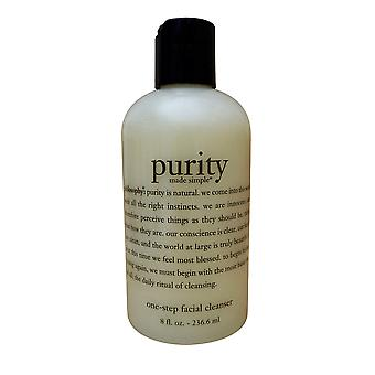 Philosophy Purity One Step Facial Cleanser Oily, Dry, Combination Skin 8 OZ