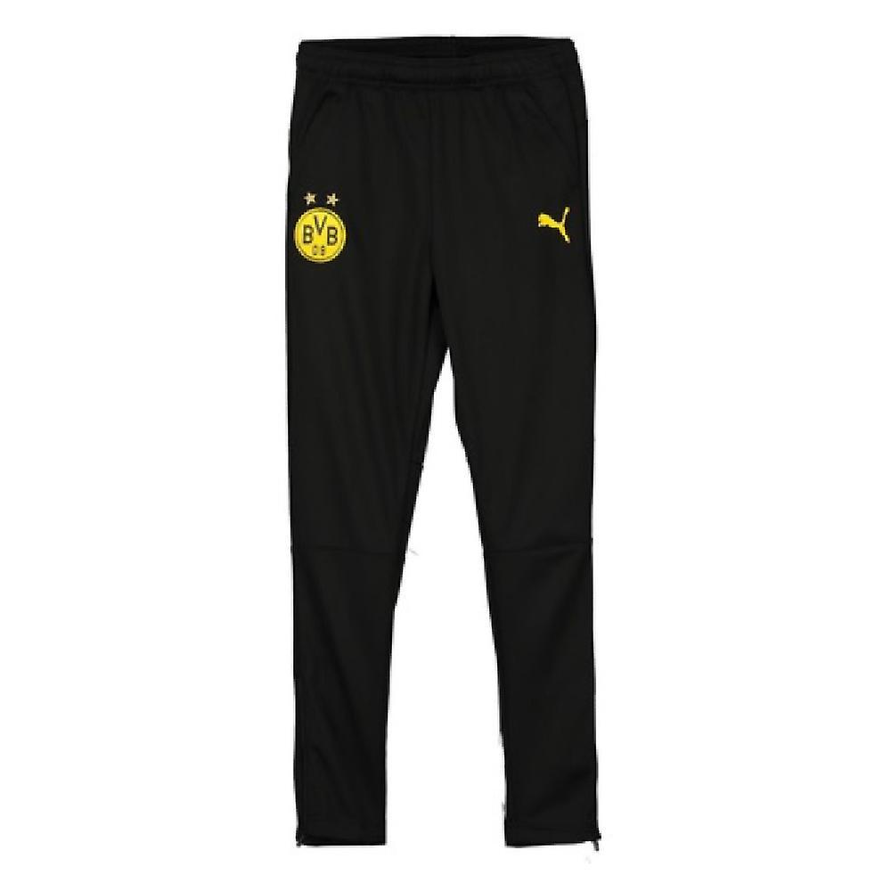 2019-2020 Borussia Dortmund Puma Training Pants (noir)