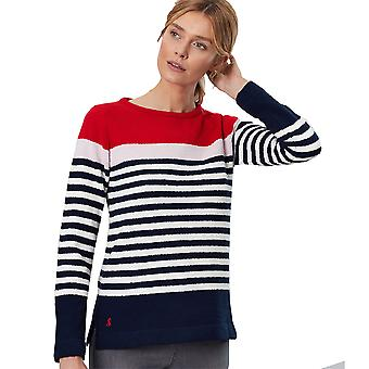 Joules Womens Seaham Harbour Relaxed Fit Long Sleeve Top