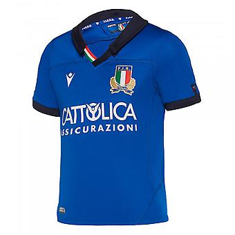 2019-2020 Italië Home replica rugby shirt (kinderen)