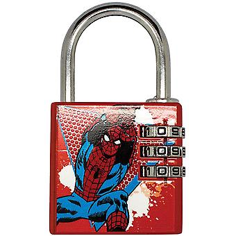 Marvel Comics Spider-Man Brass Padlock