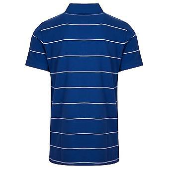 Gant GANT College Blue Striped Polo Shirt