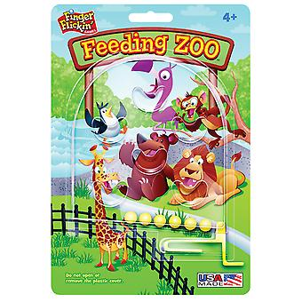 Finger Flickin' Game Feeding Zoo Pp20 1
