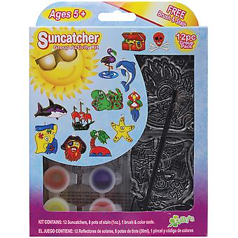 Suncatcher Group Activity Kit Pirate 12 Pkg Sgp 69228