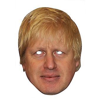 Boris Johnson Celebrity London Mayor Card Party Face Mask