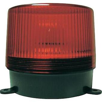 Alarm flashing light Red Indoors, Outdoors 12 Vdc ELRO