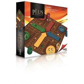 Cayro Parcheesi Plus Wood (Speelgoed , Bordspellen , Tradities)