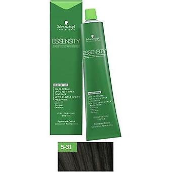 Schwarzkopf Professional Essensity 5.31 (Woman , Hair Care , Hair dyes , Hair Dyes)