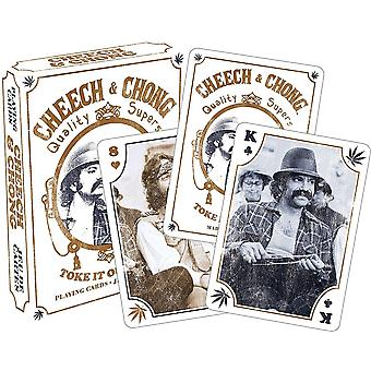 Cheech and Chong set of 52 playing cards (nm 52357)