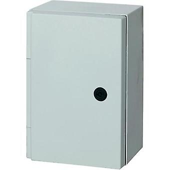 Fibox 8104304 CAB P Polyester Plastic Wall Mount Enclosure IP66 Grey (RAL 7035) 415 x 315 x 170 mm
