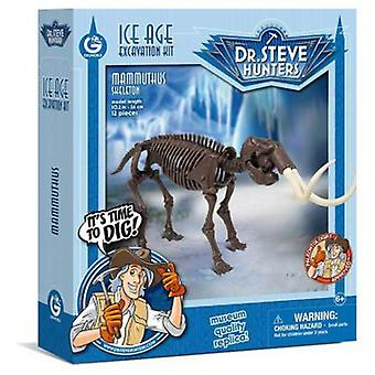Geoworld Ice Age excav. Kit - Skeleton Mammuthus