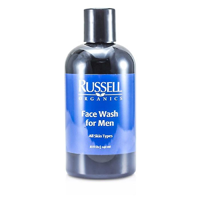 Russell Organics Face Wash For Men 240ml/8oz