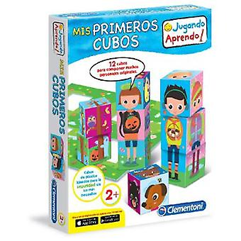 Clementoni Learn My Baby 1 Cubes (Toys , Preschool , Babies , Stackable Toys)