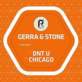 Gerra & Stone - Dnt U / Chicago [Vinyl] USA import