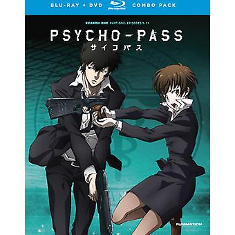 Psycho-Pass: Season One Pt. 1 [BLU-RAY] USA import
