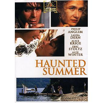 Haunted Summer [DVD] USA import