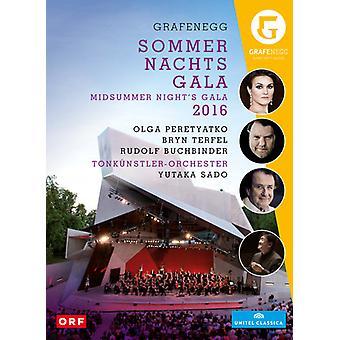 Bryn Terfel - Midsummer Night Gala 2016 fra Grafenegg [DVD] USA import