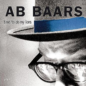 Ab Baars - Time to Do My Lions [CD] USA import