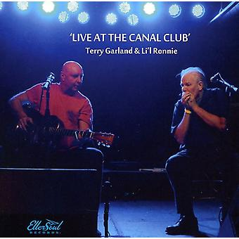 Terry Garland & Li'L Ronnie - Live på kanalen Club' [CD] USA import