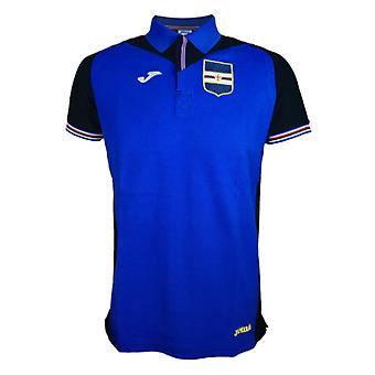 2017-2018 Sampdoria Joma Polo Shirt (Blue)