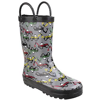 Cotswold Kids Puddle Waterproof Pull On Boot