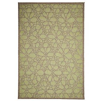 Outdoor carpet for Terrace / balcony green Contemporary Fiore Green 135 / 190 cm carpet indoor / outdoor - for indoors and outdoors