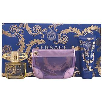 Versace Intense Yellow Diamond Lot 3 Pieces (Parfümerie , Packs )