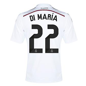 2014-15 Real Madrid Home Shirt (Di Maria 22)
