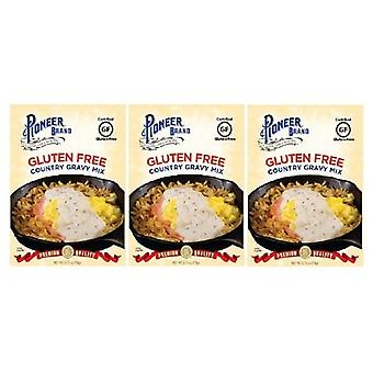 Pioneer Brand Gluten Free Country Gravy Mix 3 Packet Pack