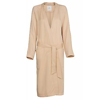 ADPT. Found coat coat women's coat beige from thin fabric