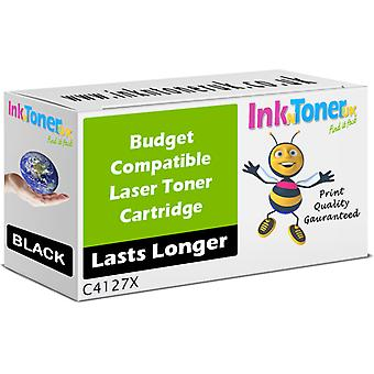 Compatibile Hp 27x cartuccia Toner ad alta capacità nero (c4127x)