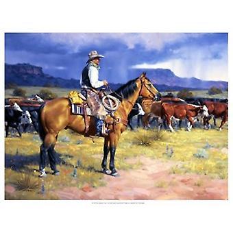 Great American Cowboy Poster Print by Jack Sorenson (25 x 19)