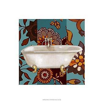 Spice Bathroom I Poster Print by Vision studio (13 x 19)