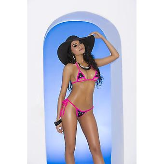 Elegant Moments Vivace EM-82043 Lycra bikini top and matching g-string