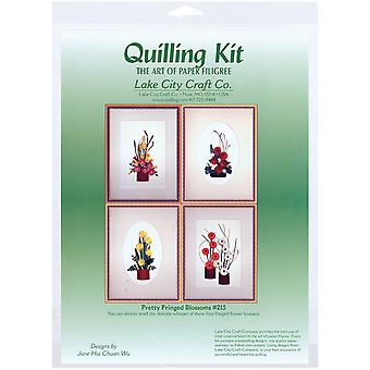 Quilling Kit Pretty Fringed Blossoms Q215