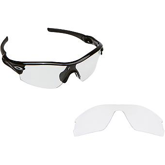 Radar EV Pitch Replacement Lenses Crystal Clear by SEEK fits OAKLEY Sunglasses