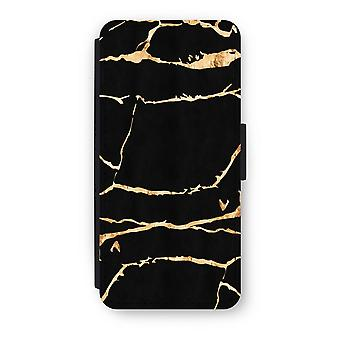 iPhone 5C Flip Case - marmo oro