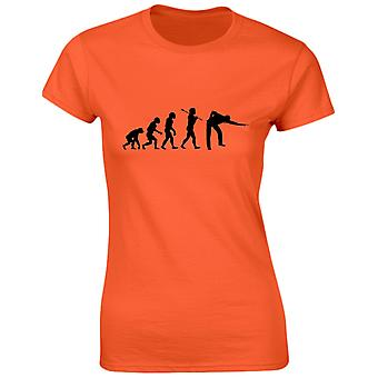 Snooker Evo Evolution Funny Womens T-Shirt 8 Colours by swagwear
