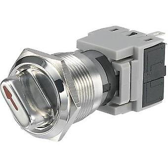 Tamper-proof rotary switch 250 V AC 5 A Switch postions 2 1 x 90