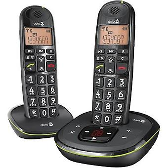 Cordless Big Button doro PhoneEasy 105wr Duo Visual call notification, Answerp