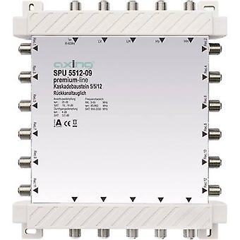 SAT cascade multiswitch Axing SPU 5512-09 Inputs (multiswitches): 5 (4 SAT/1