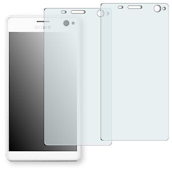 Sony Xperia C4 display protector - Golebo crystal clear protection film